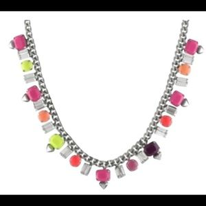 Juicy couture neon necklace